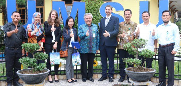 Dukung Program Internasionalisasi PTM, UMSU Jalin Kerjasama dengan Prancis